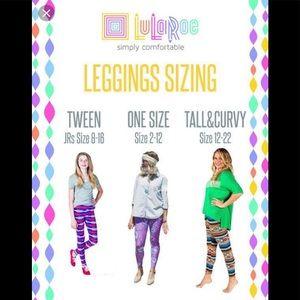 LuLaRoe Pants - LULAROE Fireworks Leggings